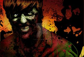 Zombie Colored by DontBornInInk