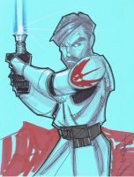 Oct 7 Art Cast ObiWan Kenobi by Hodges-Art