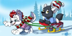 Sleigh Ride by Tavi-Munk