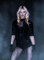 Katheryn Winnick as Black Canary by ricktimusprime0825