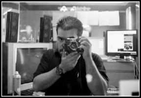 Me and my Minolta Hi-Matic7sII by lmajali