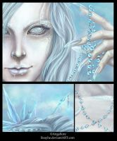 Ice Queen - close ups by Heylenne