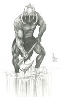 FF's Death Dealer -June '12 Daily Art Jam- Day 12 by JeremiahLambertArt