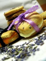 Honey Lavender Shortbread 6 by munchinees