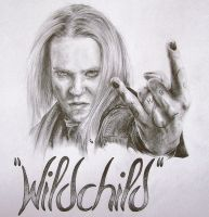 "Alexi ""Wildchild"" Laiho by CKArtpage"