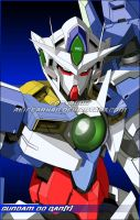 GUNDAM 00 QAN_T - Full Color by aliffarhan