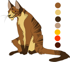 Tigerclaw Colour Sheet by Flimingow