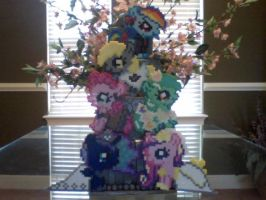 My Little Pony Perler V-Day Mystery Bag Ponies by Perler-Pony