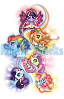 Rainbow Power by Thebubbleqat