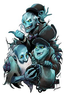 Hitchhiking ghosts by glencanlas