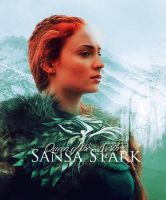 Sansa Stark // Queen of the North by ArdenD83