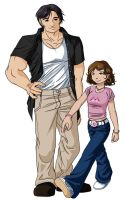 Kitty and Peter by Shira-chan