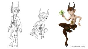 Satyr Concept - Poses