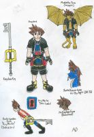 KHKBW_Sora_most forms by DNLnamek01