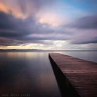 Clouds over the sea by ivancoric