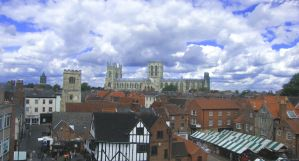 York skies by Queenselphie