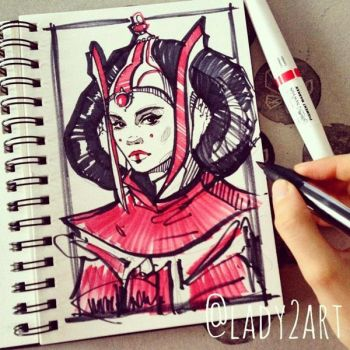 padme_amidala. by Lady2