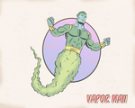 VAPOR MAN by paintmarvels
