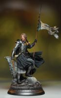 The Two Towers Special Edition:  Boromir  Statue by GabrielxMarquez