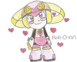 Roll Exe CHIBI by Misora-Roll