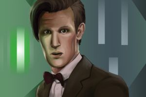 The Eleventh Doctor by Hawoot