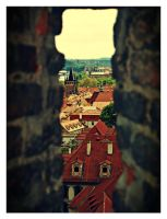 Prague view by Csipesz