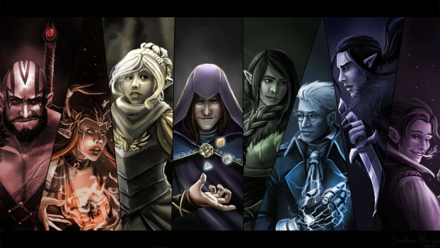 Critical Role 50th Episode Wallpaper by Anodesu