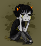 Sollux Crying by Nurbzwax
