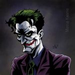 The Joker (color version) by marcuskwame
