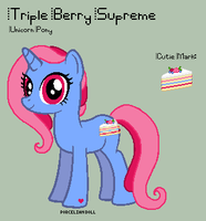 MLP - Triple Berry Supreme Reference Sheet by porcelian-doll