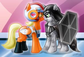 My Little Starwars by henbe