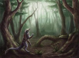 Forest by zarathus