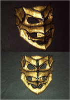 Golden Mask by Ultimaknight333