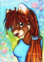 ACEO trade with Frenzy by Suane