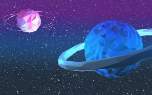 Low Poly Planets by venus7