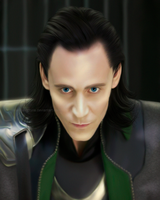 Tom Hiddleston as Loki by MarinaSchiffer