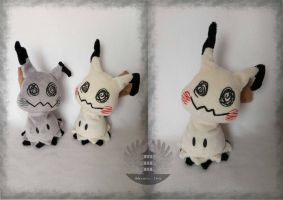 Life size normal and shiny Mimikyu plush - minky by ArtesaniasIris
