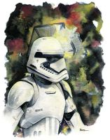 The Force Awakens, First Order Stormtrooper by MikeKretz