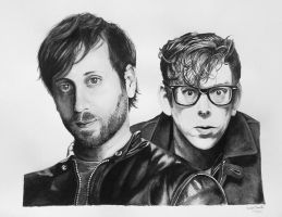 The Black Keys by ClearlyDarkness
