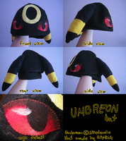 Umbreon hat by Siplick
