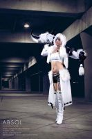 Absol Gijinka: Theif by jobofish
