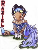 Raziel by Dokuro