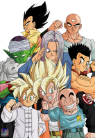 Group .:Lineart45:. Color by PrinzVegeta