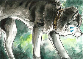 ACEO - Silently by ShadeofShinon
