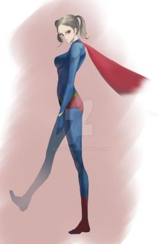 supergirl concept by hanselch
