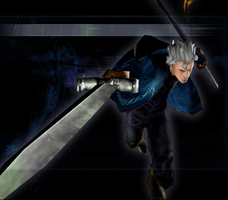 Devil May Cry 3 SE - Force Edge Vergil Clear 1 by Elvin-Jomar