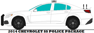 2014 Chevrolet SS Police Package by mcspyder1