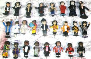 Michael Jacksons minis by ajacqmain