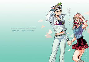 JOJOLION - JOSKE*YASUHO FAN BOOK by Byam