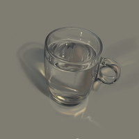 Glass of water study by Pompuri